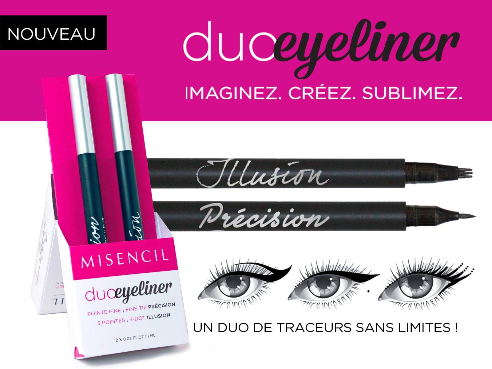 DUO EYE-LINER MISENCIL