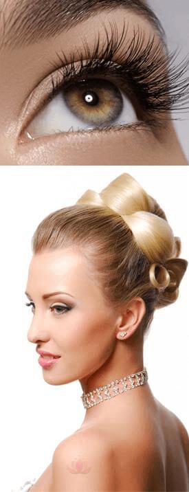 mariage maquillage cils